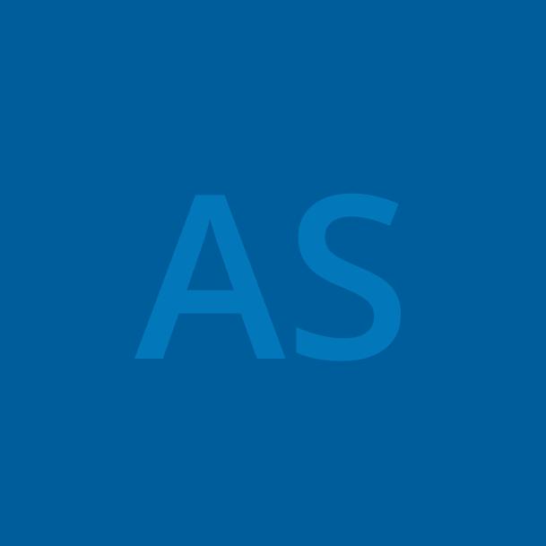 AS initials