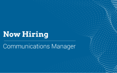 Now Hiring: Communications Manager