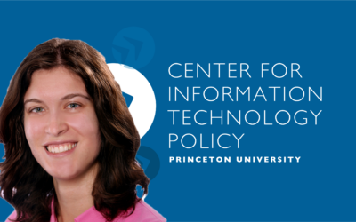 CITP Graduate Student Elena Lucherini Named a 2021 Twitch Research Fellow