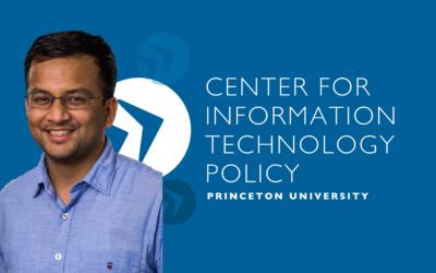CITP Postdoctoral Research Fellow Arunesh Mathur Receives 2021 ACM SIGCHI Outstanding Dissertation Award