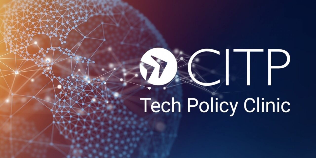 CITP Tech Policy Clinic Featured by SEAS