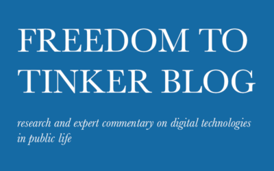 Freedom to Tinker Listed as one of the Best Computer Science Blogs