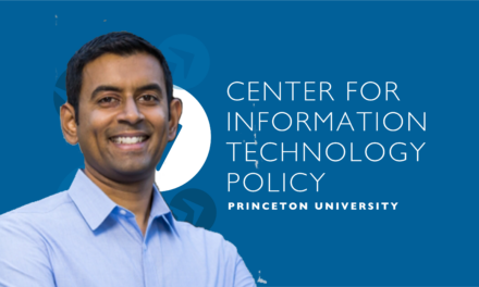Professor Arvind Narayanan Recognized Again for Outstanding Teaching