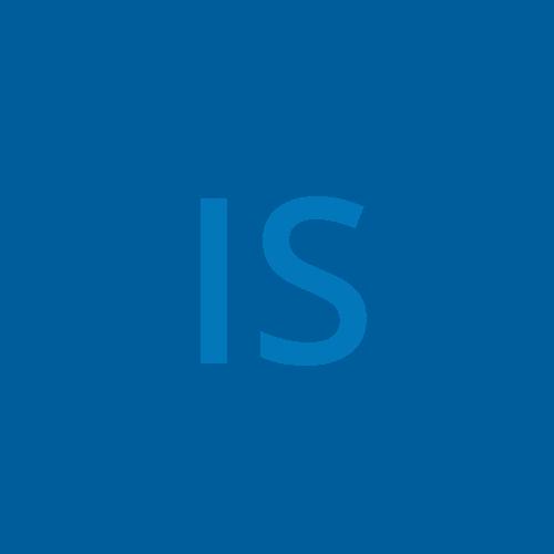 IS initials box