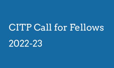 CITP Call for Fellows 2022-23